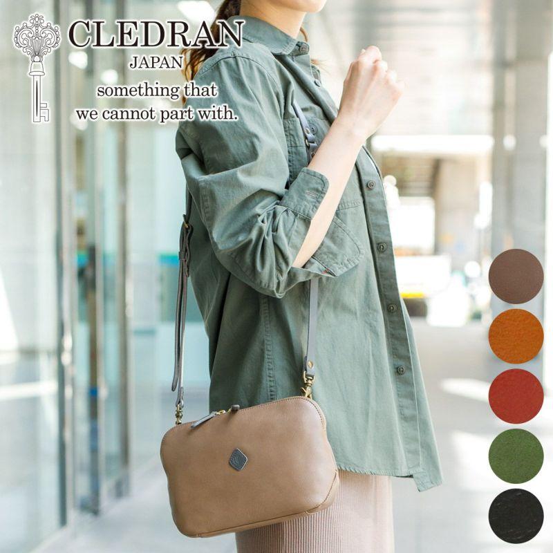 CLEDRAN クレドラン FLAM フラム お財布ショルダーバッグ CR-CL2763