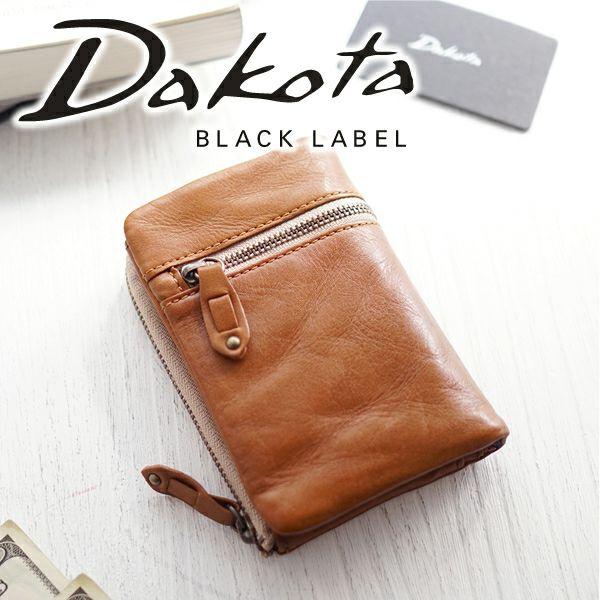 Dakota BLACK LABEL ダコタ ブラックレーベル バルバロ 小銭入れ付き二つ折り財布 0624700