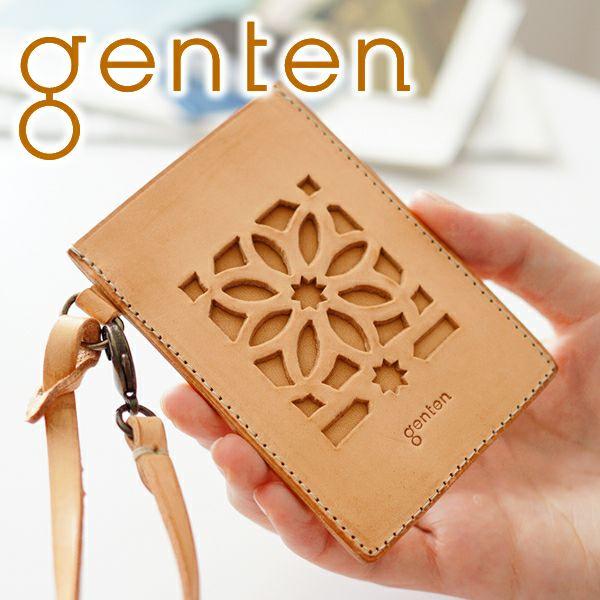 genten ゲンテン cut work カットワーク パスケース 40611
