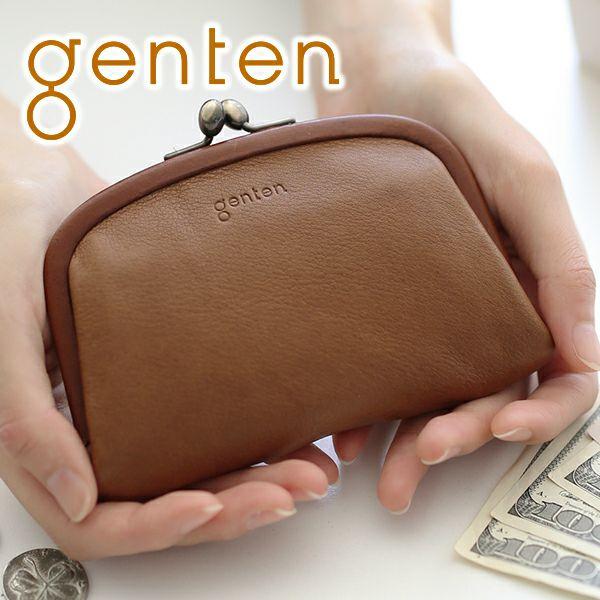 genten ゲンテン G soft Gソフト がま口コインケース 40706
