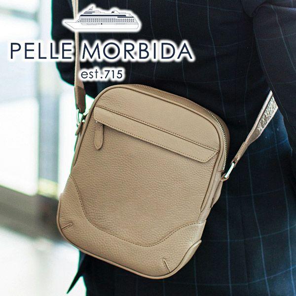 PELLE MORBIDA ペッレモルビダ Maiden Voyage メイデン ボヤージュ シュリンクレザー ショルダーバッグ PMO-MB056